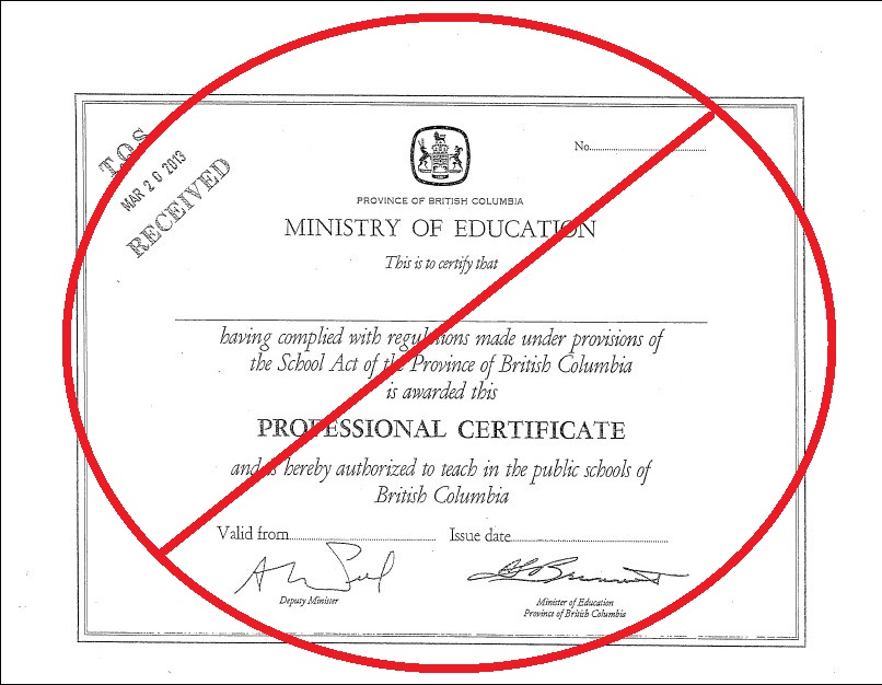 Tqsbc Glossary British Columbia Teaching Certificate